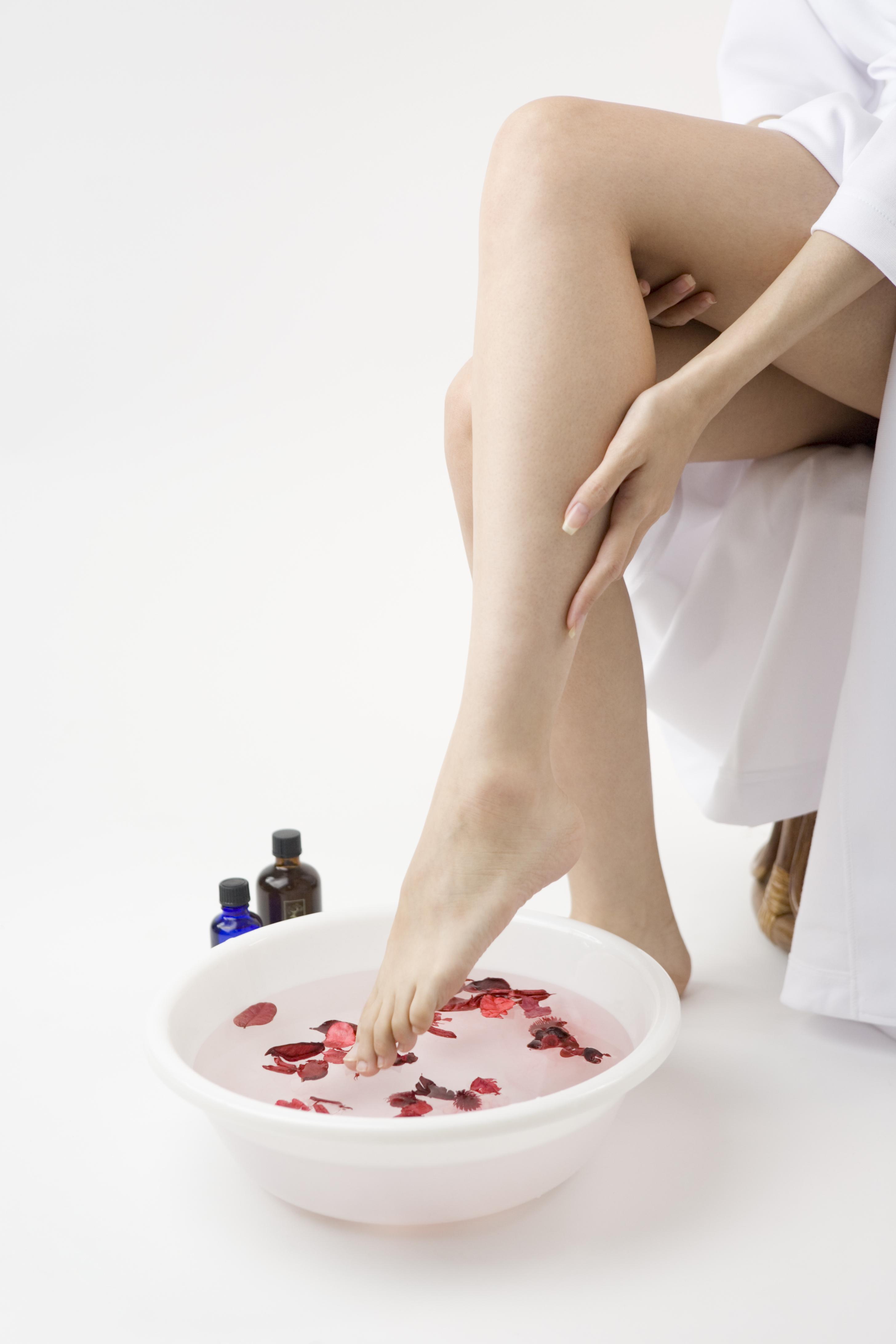 体の乾燥肌の改善