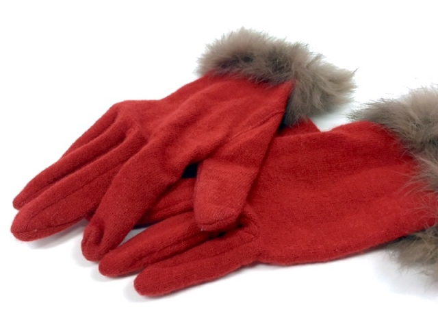 大人可愛い手袋