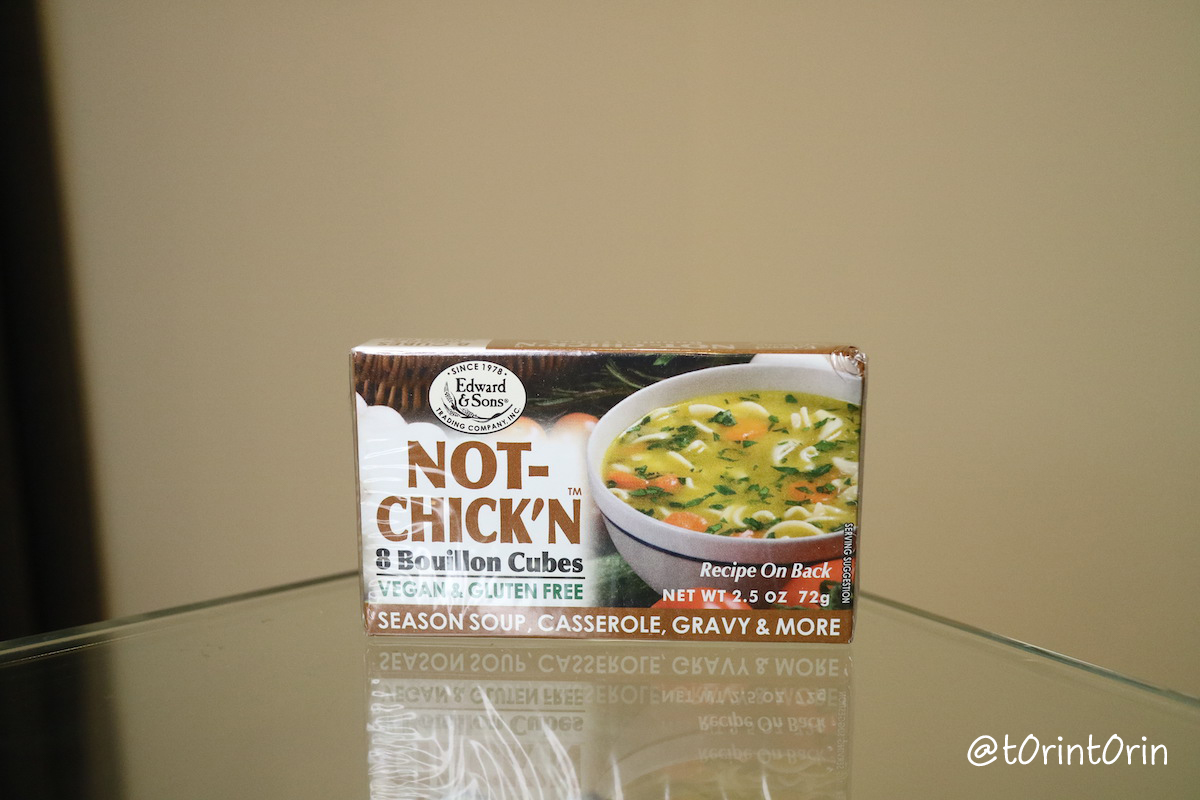 Edward & Sons, Edward & Sons, Not-Chick'n, Bouillon Cubes